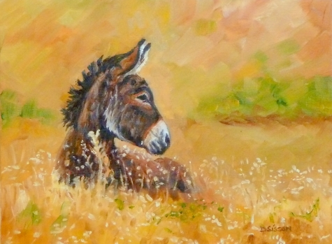 donkey_in_meadow_oil_painting_donkey_portrait_farm_6ac196e7ec7ac217e6940d37605b1bd4