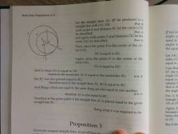 Mechanical Art vs. Science: Euclid, Book I, Proposition 2